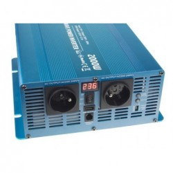 Nabíječka Carspa ENC12/24-40D autodetekce 12V/40A nebo 24V/20A, 7 stupňů dobíjení, digitální display