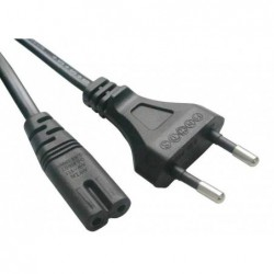 Kabel síťový napájecí 230V EU 2PIN