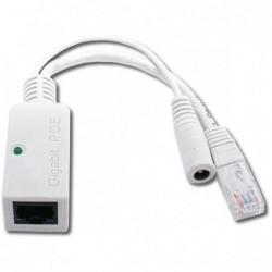Pasivní gigabit PoE adaptér s LED indikací - Injektor