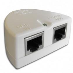 Pasivní POE s LED diodou a ochranou (bílé)