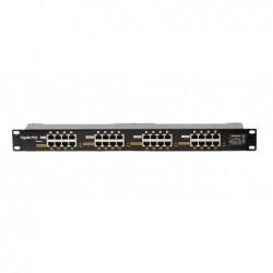 POE-PAN16-GB • Gigabitový stíněný 16-portový POE panel
