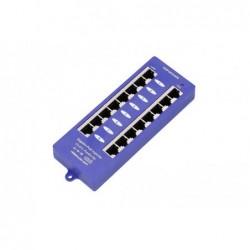 POE-PAN8-GB • Gigabitový stíněný 8-portový PoE panel