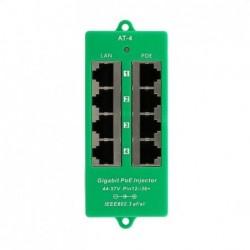 POE-PAN4-GB-AF/AT Gigabitový stíněný 4-portový PoE panel